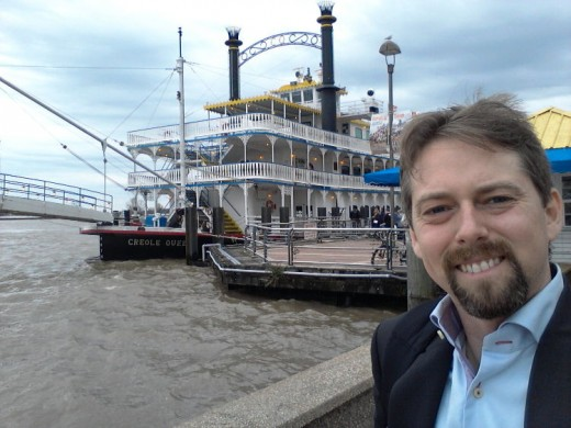 In the spare time, New Orleans offered a nice paddle boat tour on the Mississippi